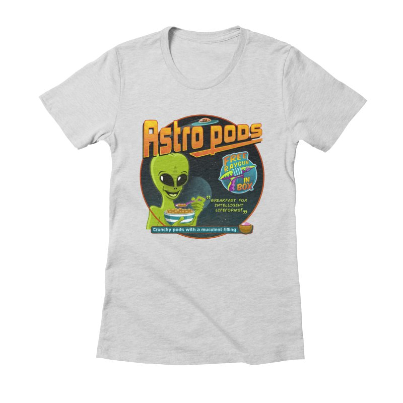 Astropods Women's Fitted T-Shirt by ferg's Artist Shop