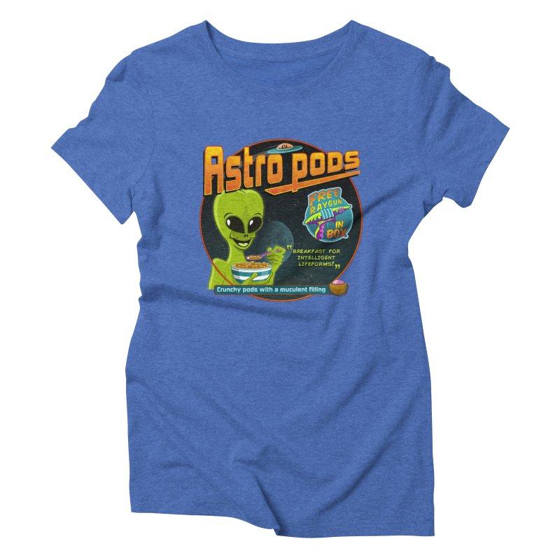 Astropods Women's Triblend T-shirt by ferg's Artist Shop