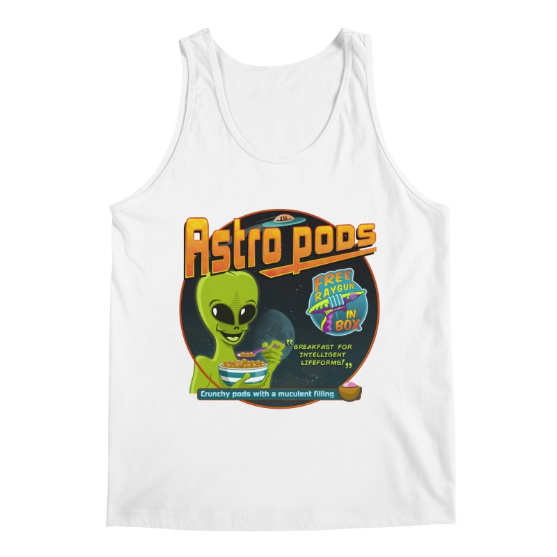 Astropods Men's Regular Tank by ferg's Artist Shop
