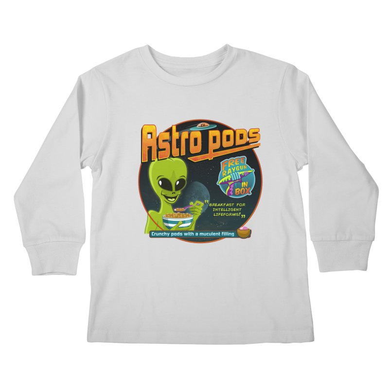 Astropods Kids Longsleeve T-Shirt by ferg's Artist Shop