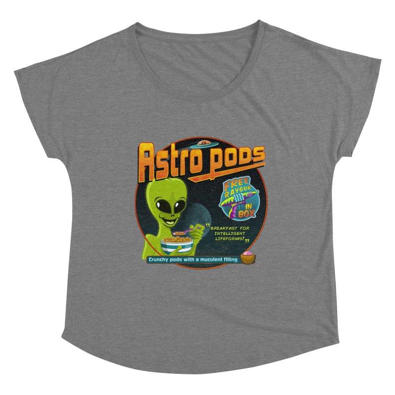 Astropods Women's Scoop Neck by ferg's Artist Shop