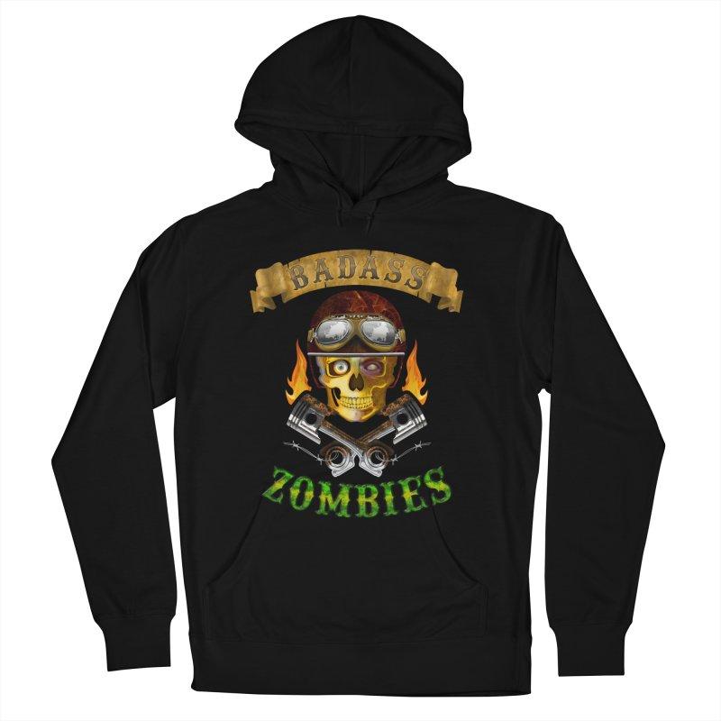 Badass Zombies Women's Pullover Hoody by ferg's Artist Shop