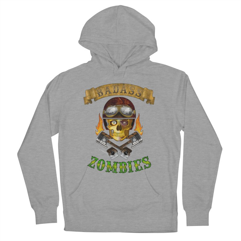 Badass Zombies Men's Pullover Hoody by ferg's Artist Shop