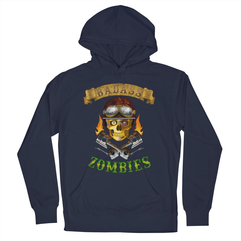 Badass Zombies Men's Pullover Hoody by ferg's Artist Shop