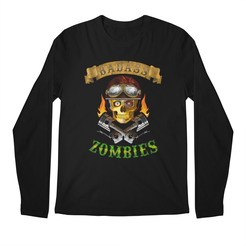 Badass Zombies Men's Longsleeve T-Shirt by ferg's Artist Shop