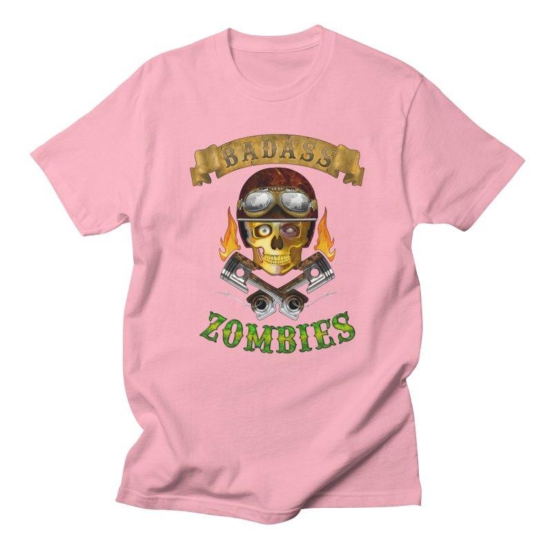 Badass Zombies Men's T-Shirt by ferg's Artist Shop