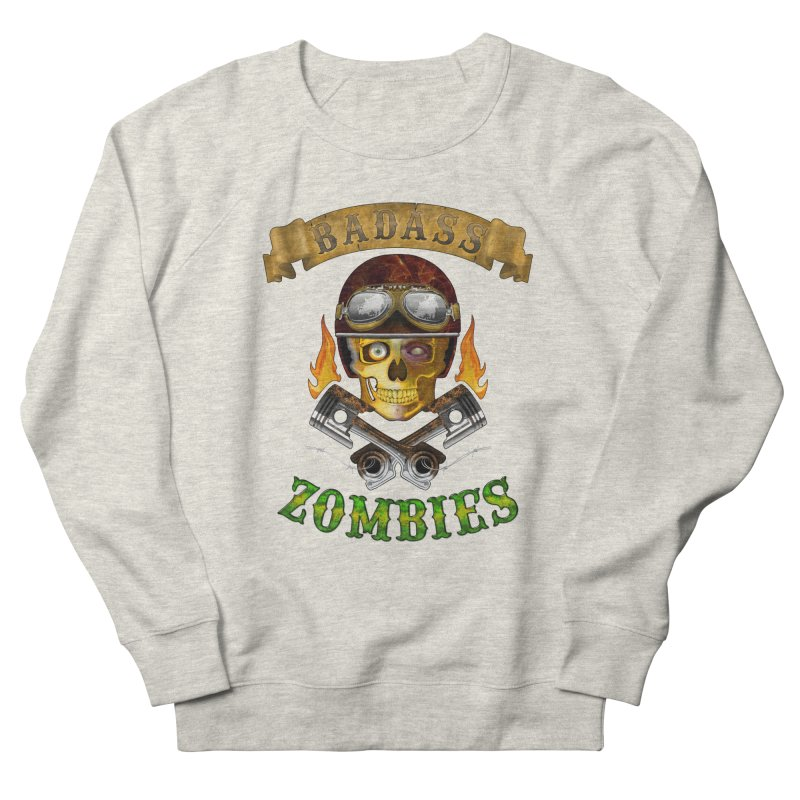 Badass Zombies Women's Sweatshirt by ferg's Artist Shop