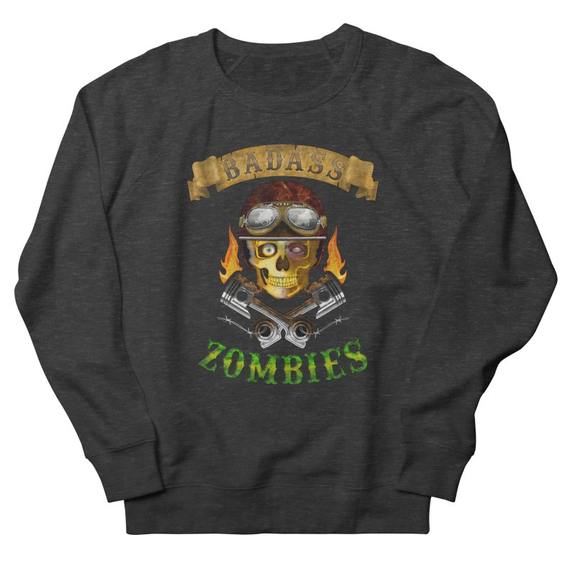 Badass Zombies Men's Sweatshirt by ferg's Artist Shop