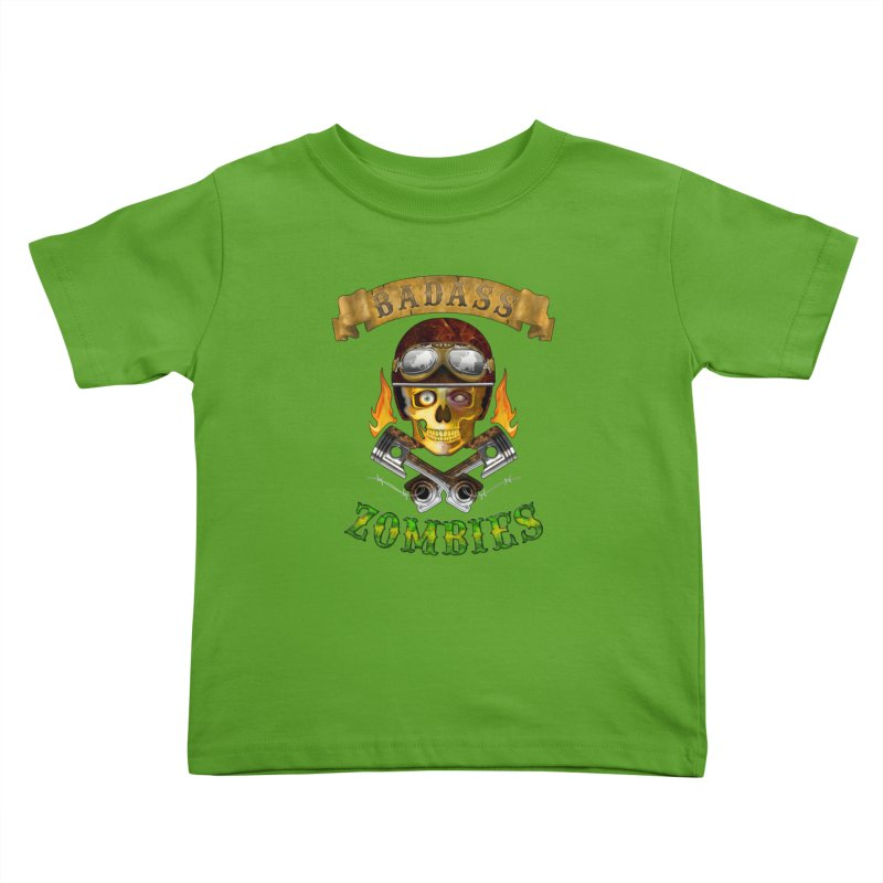 Badass Zombies Kids Toddler T-Shirt by ferg's Artist Shop