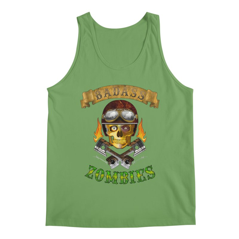 Badass Zombies Men's Tank by ferg's Artist Shop