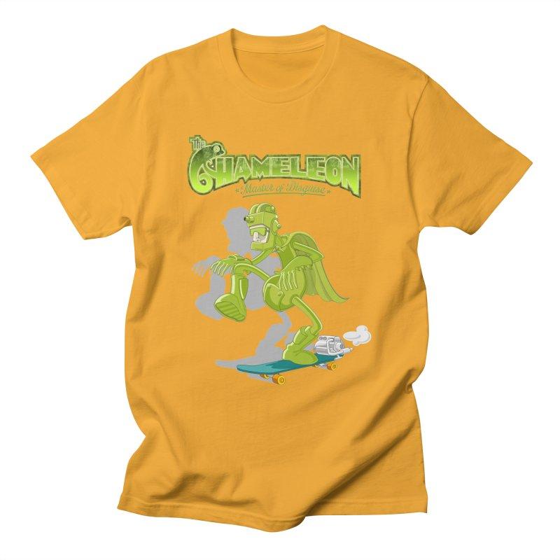 Chameleon Men's T-Shirt by ferg's Artist Shop