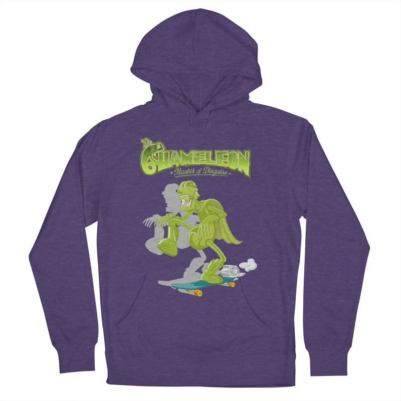 Chameleon Women's French Terry Pullover Hoody by ferg's Artist Shop