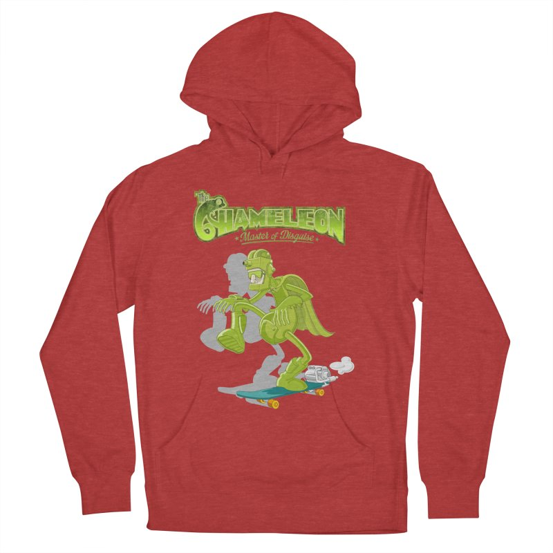 Chameleon Men's French Terry Pullover Hoody by ferg's Artist Shop