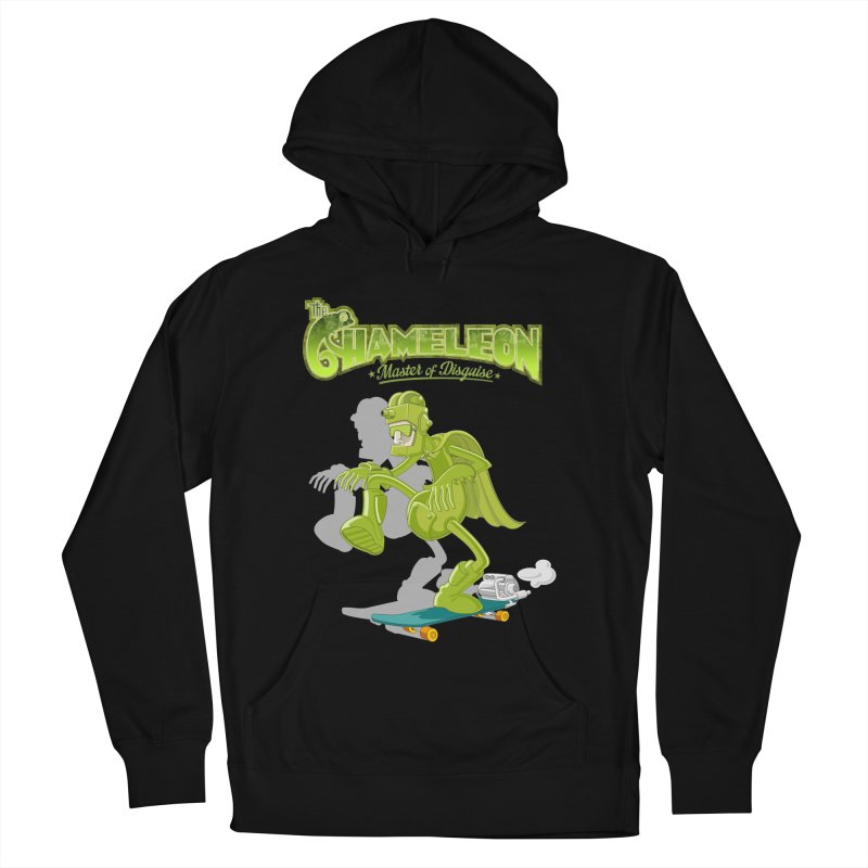 Chameleon Men's Pullover Hoody by ferg's Artist Shop