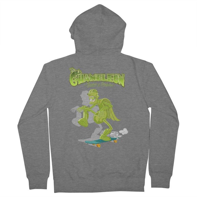 Chameleon Men's Zip-Up Hoody by ferg's Artist Shop