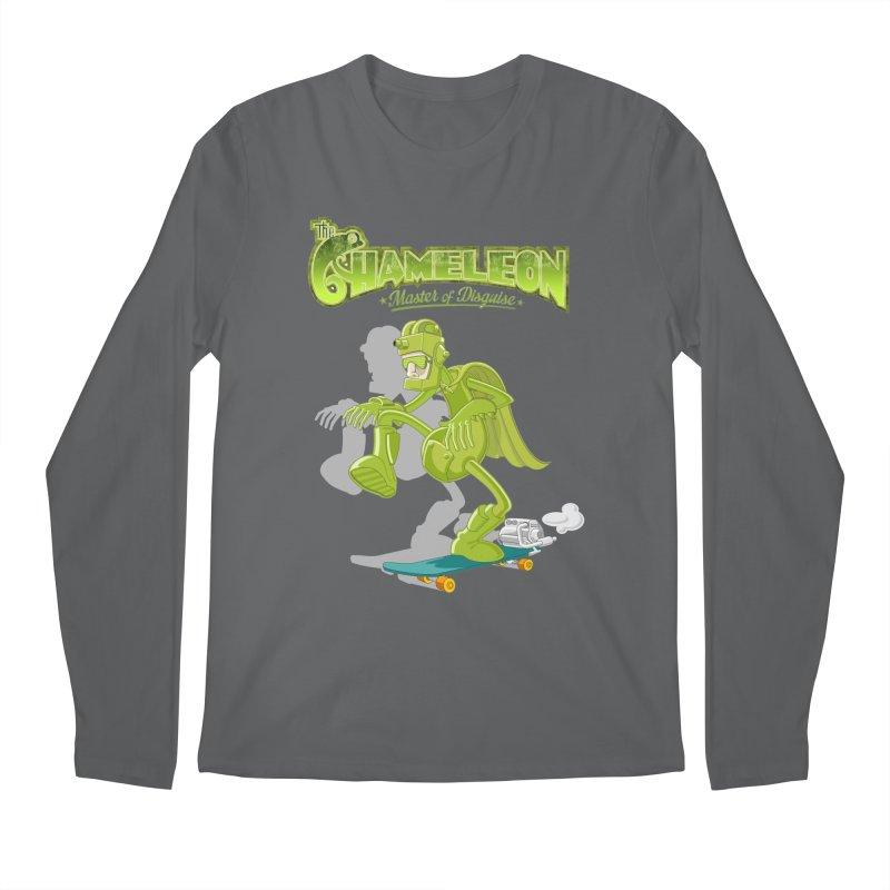 Chameleon Men's Longsleeve T-Shirt by ferg's Artist Shop
