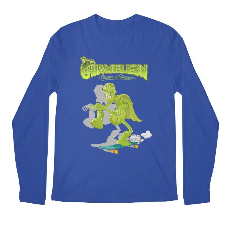 Chameleon Men's Regular Longsleeve T-Shirt by ferg's Artist Shop
