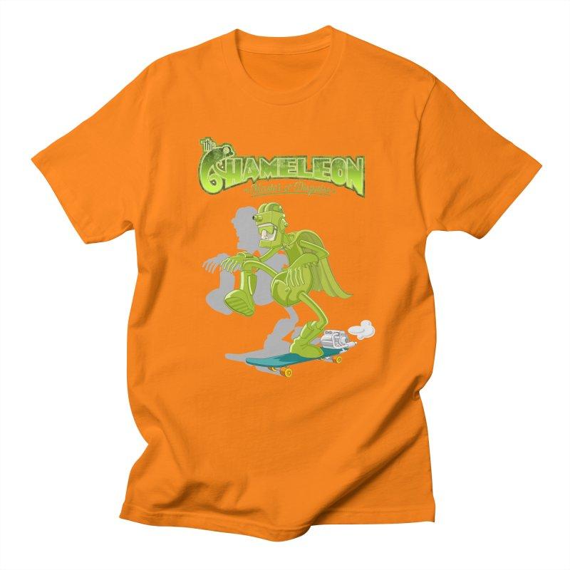 Chameleon Men's Regular T-Shirt by ferg's Artist Shop
