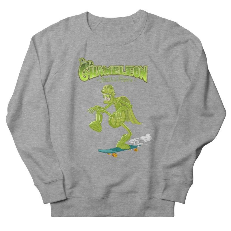 Chameleon Women's French Terry Sweatshirt by ferg's Artist Shop