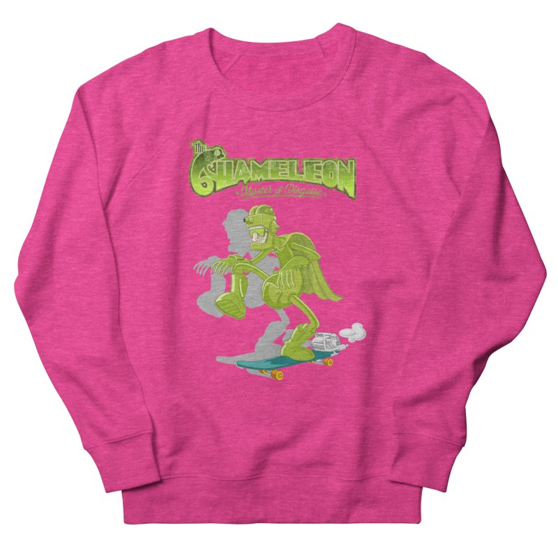 Chameleon Women's Sweatshirt by ferg's Artist Shop