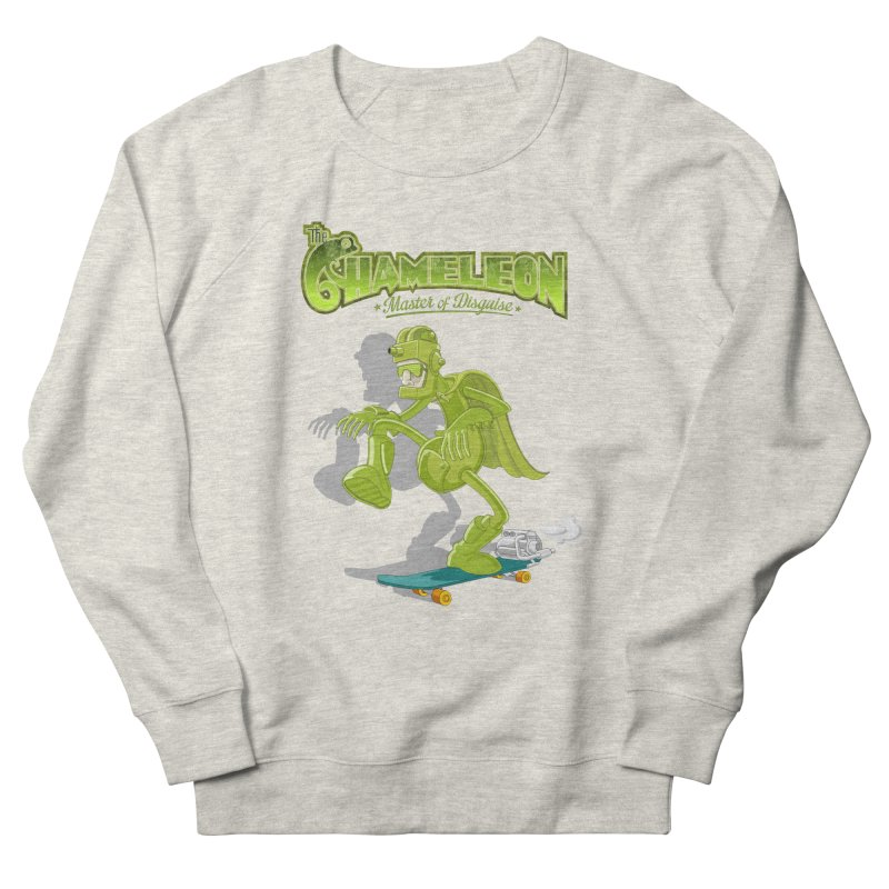 Chameleon Men's French Terry Sweatshirt by ferg's Artist Shop