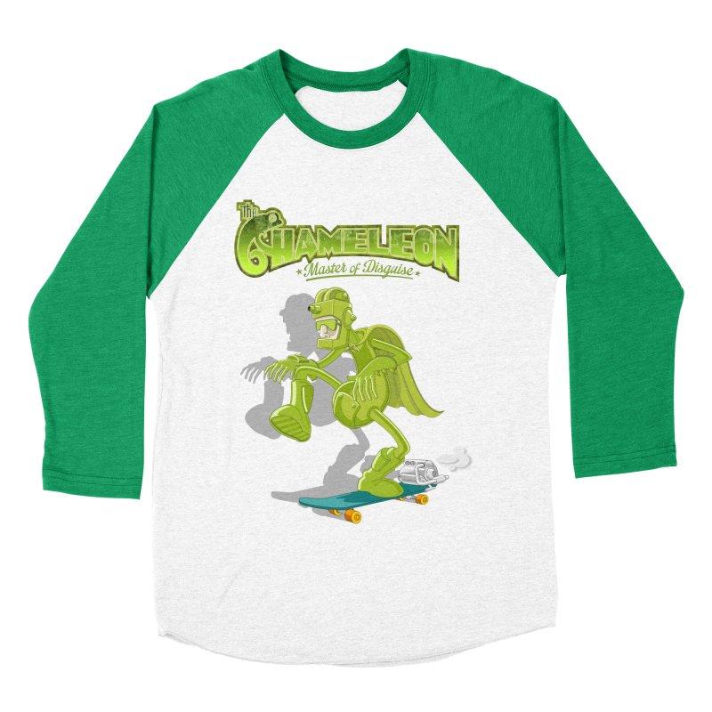Chameleon Women's Baseball Triblend Longsleeve T-Shirt by ferg's Artist Shop