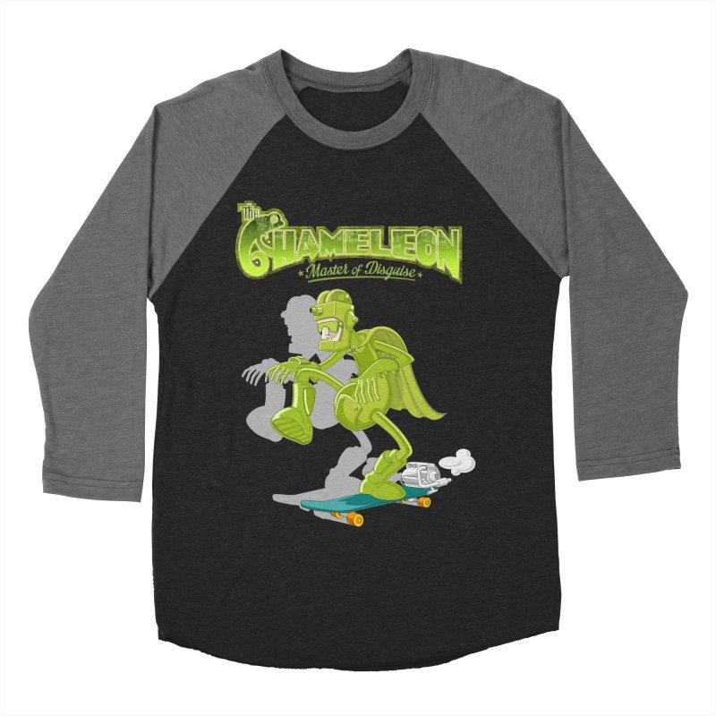 Chameleon Men's Baseball Triblend Longsleeve T-Shirt by ferg's Artist Shop