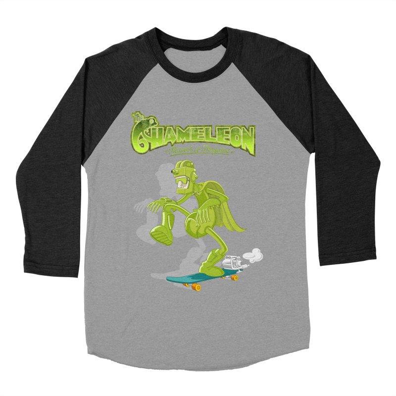 Chameleon Men's Baseball Triblend T-Shirt by ferg's Artist Shop