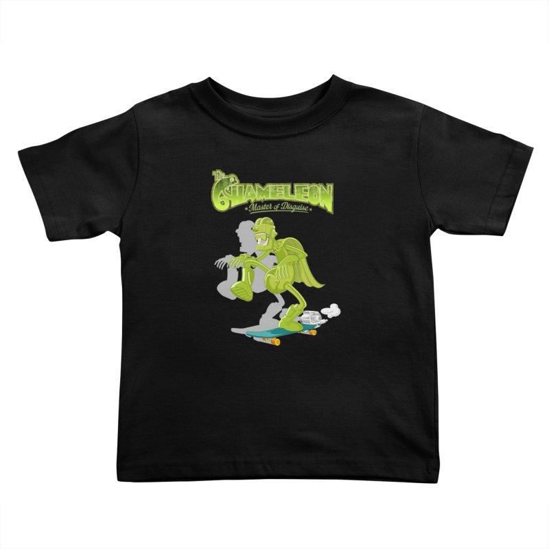 Chameleon Kids Toddler T-Shirt by ferg's Artist Shop