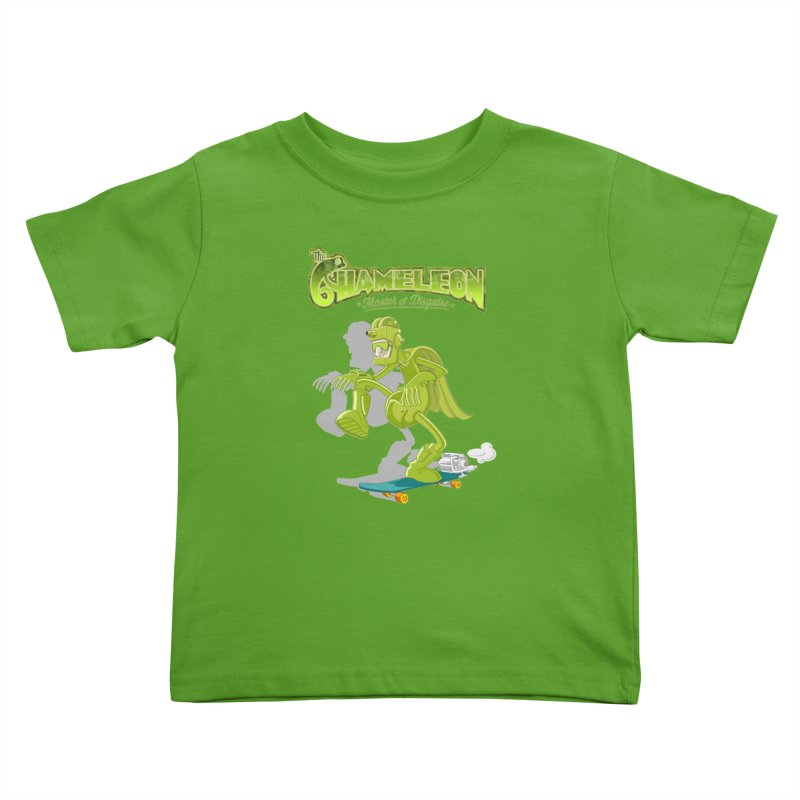 Chameleon Kids Toddler T-Shirt by ferg's Artist Shop
