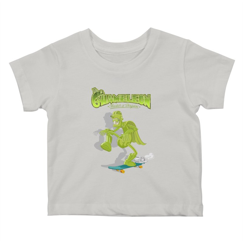 Chameleon Kids Baby T-Shirt by ferg's Artist Shop