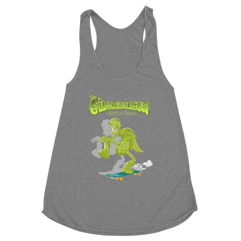 Chameleon Women's Tank by ferg's Artist Shop
