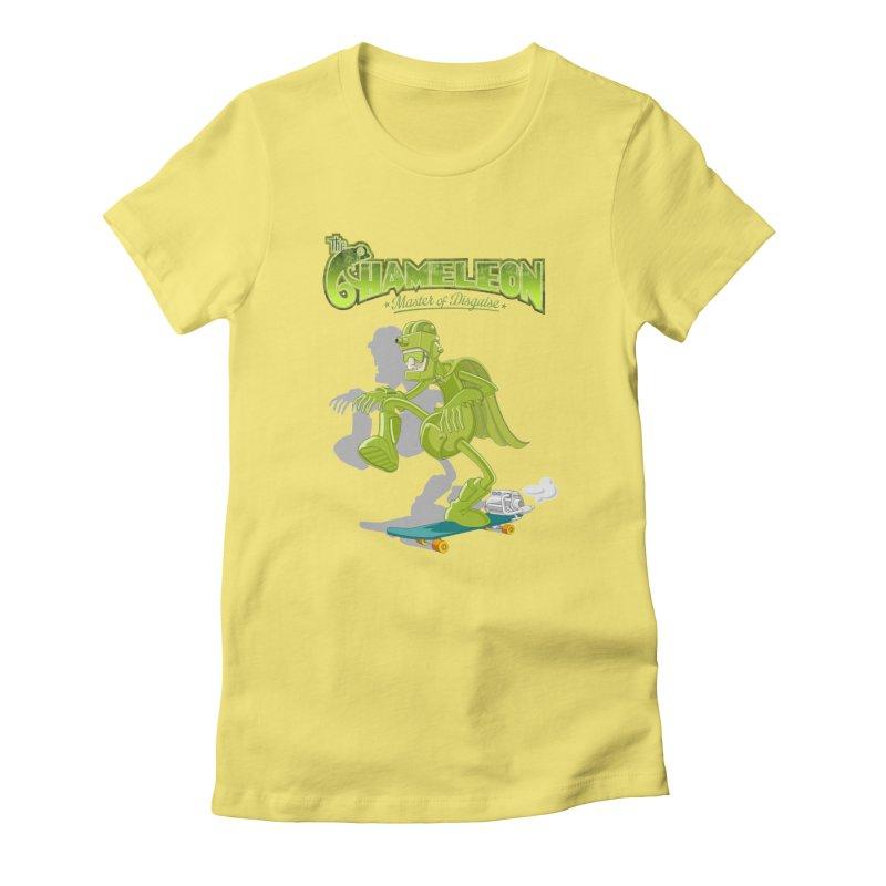 Chameleon Women's T-Shirt by ferg's Artist Shop