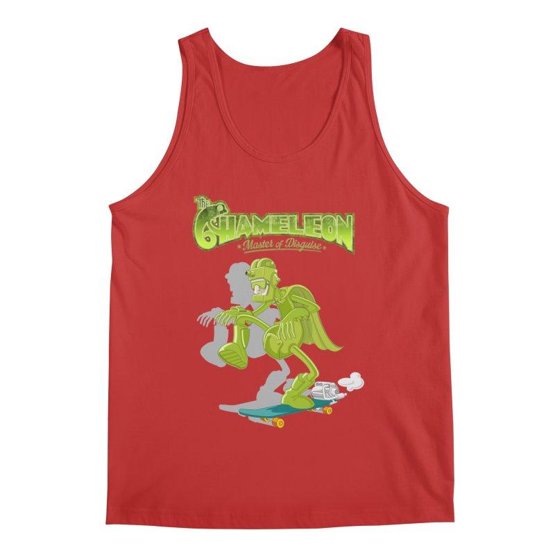 Chameleon Men's Tank by ferg's Artist Shop