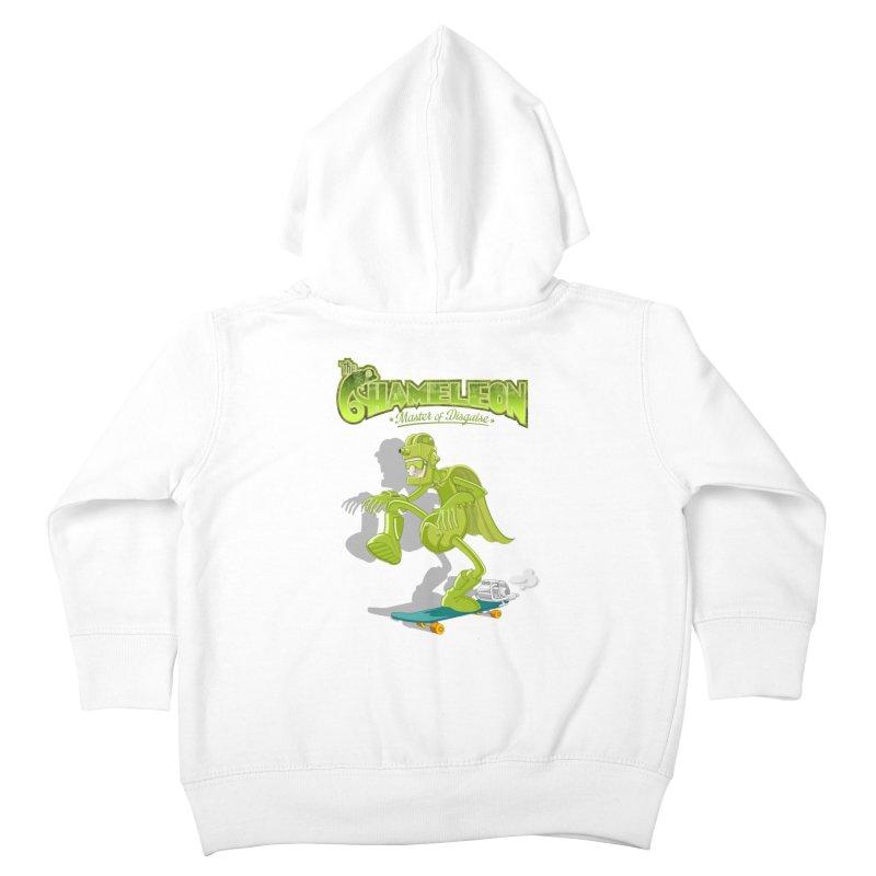 Chameleon Kids Toddler Zip-Up Hoody by ferg's Artist Shop