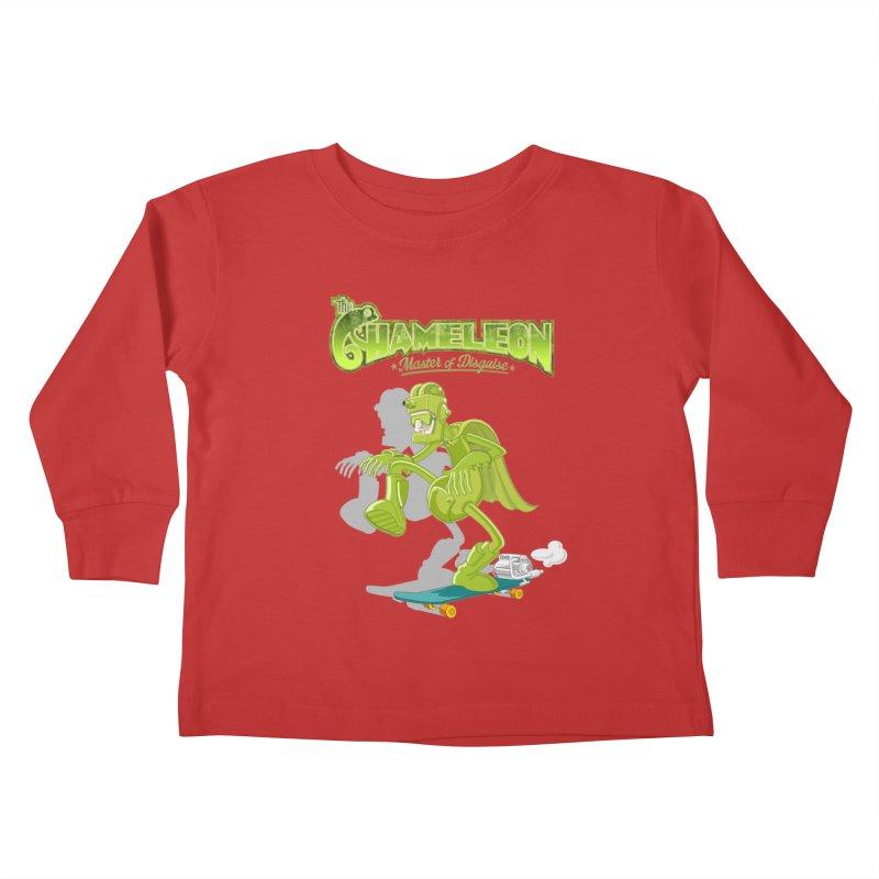 Chameleon Kids Toddler Longsleeve T-Shirt by ferg's Artist Shop