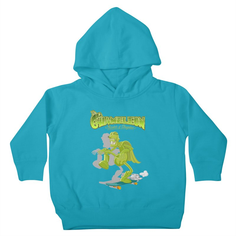 Chameleon Kids Toddler Pullover Hoody by ferg's Artist Shop