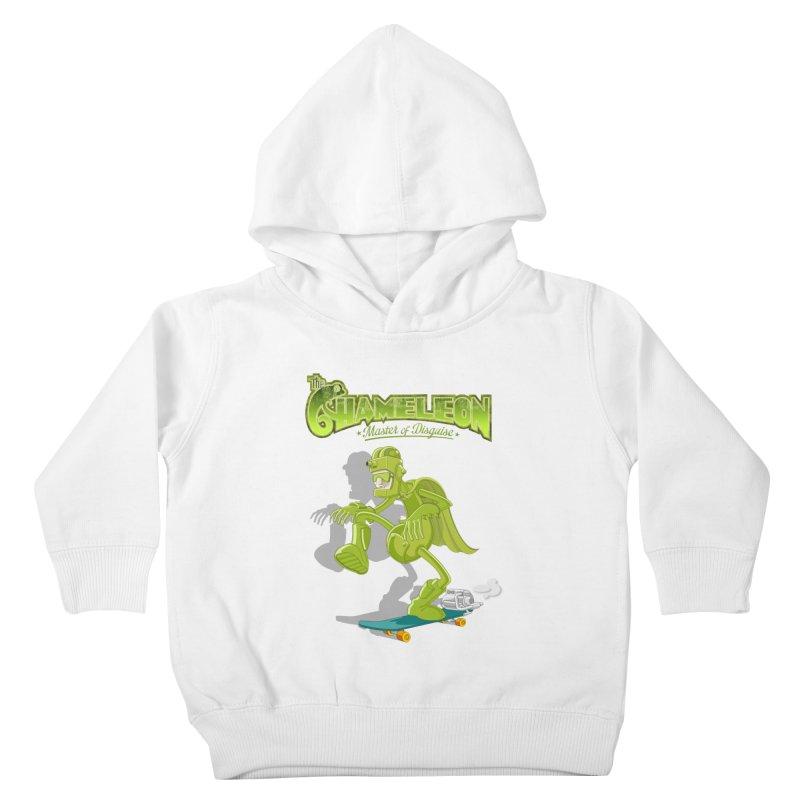 Chameleon Kids Toddler Pullover Hoody by ferg's Artist Shop