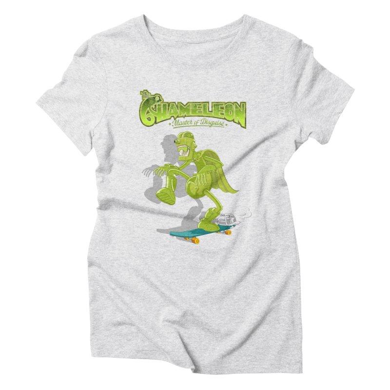 Chameleon Women's Triblend T-Shirt by ferg's Artist Shop
