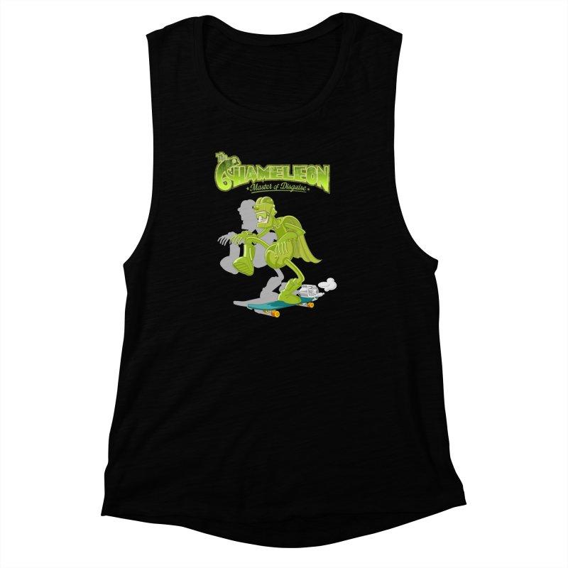 Chameleon Women's Muscle Tank by ferg's Artist Shop