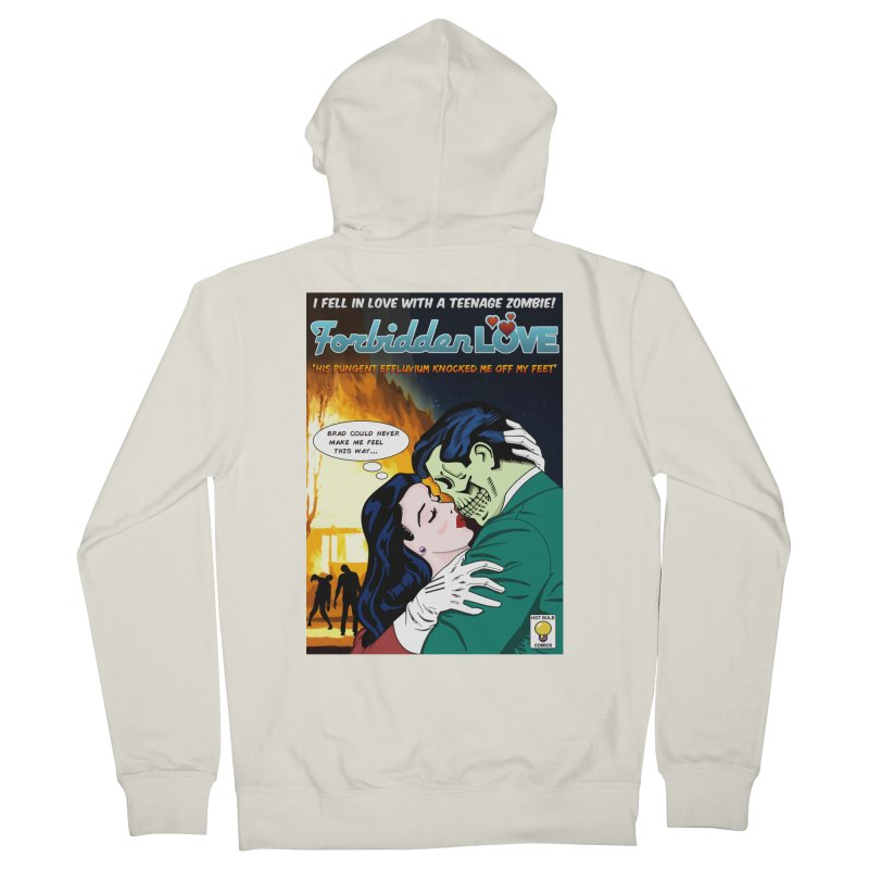 Forbidden Love Women's French Terry Zip-Up Hoody by ferg's Artist Shop