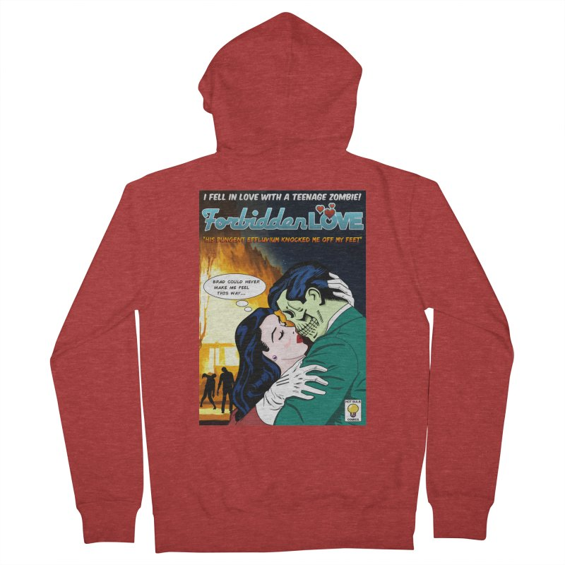 Forbidden Love Men's Zip-Up Hoody by ferg's Artist Shop