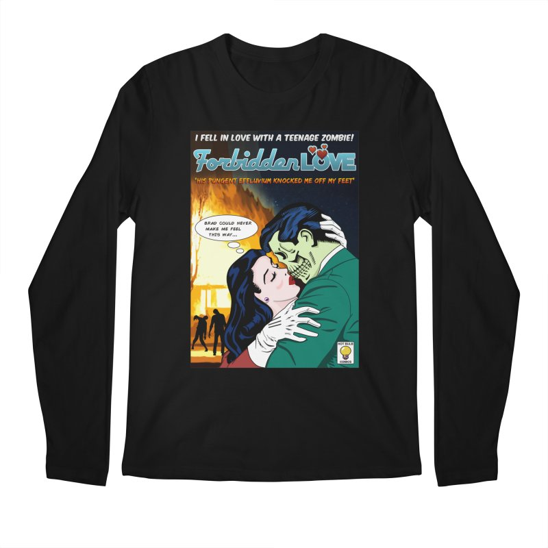 Forbidden Love Men's Regular Longsleeve T-Shirt by ferg's Artist Shop