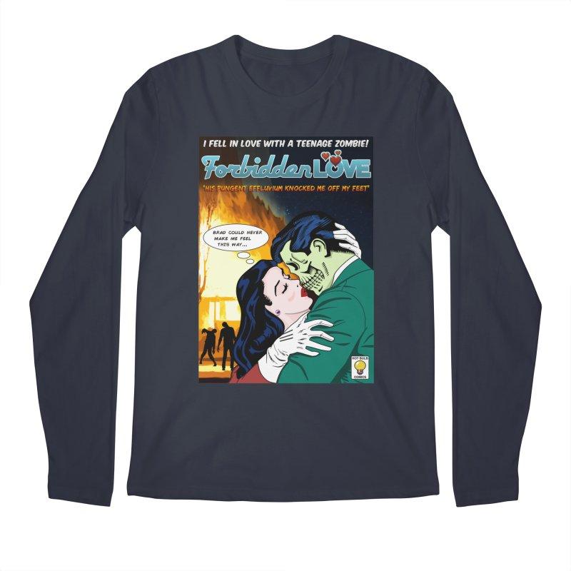 Forbidden Love Men's Regular Longsleeve T-Shirt by ferg's Artist Shop