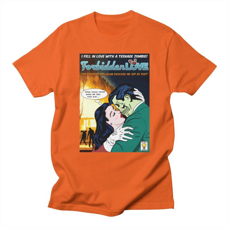 Forbidden Love Men's Regular T-Shirt by ferg's Artist Shop