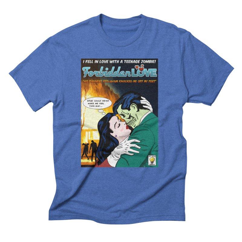 Forbidden Love Men's Triblend T-shirt by ferg's Artist Shop