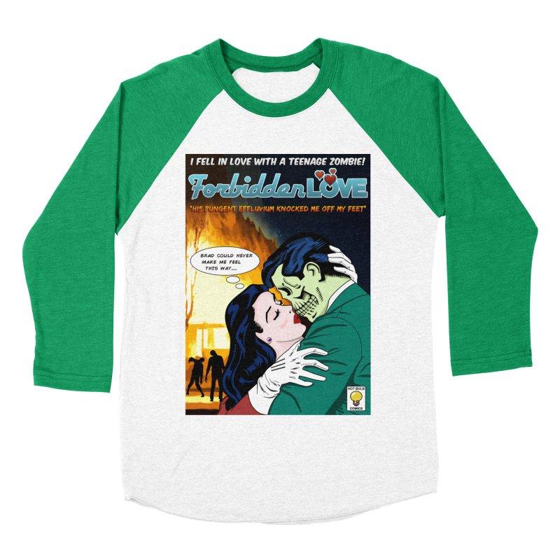 Forbidden Love Women's Baseball Triblend Longsleeve T-Shirt by ferg's Artist Shop