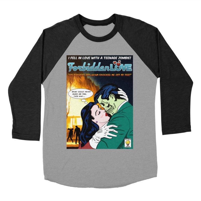 Forbidden Love Men's Baseball Triblend T-Shirt by ferg's Artist Shop