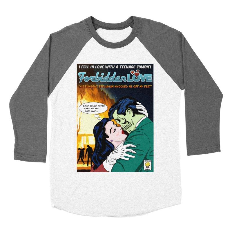 Forbidden Love Men's Baseball Triblend Longsleeve T-Shirt by ferg's Artist Shop