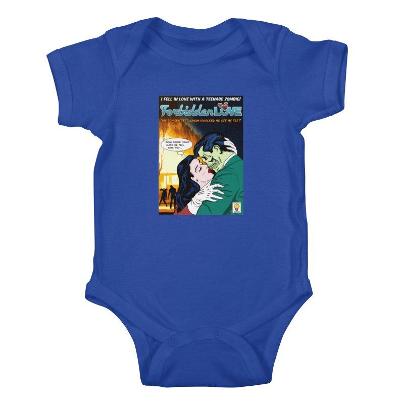 Forbidden Love Kids Baby Bodysuit by ferg's Artist Shop